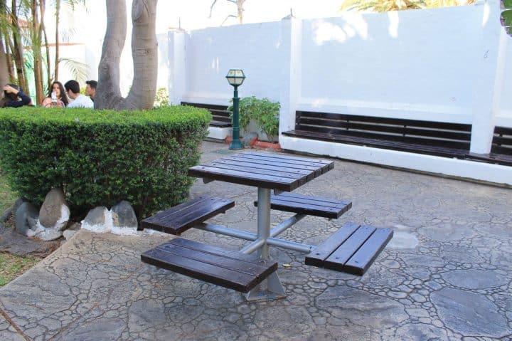 Mesa en Parque Lulú