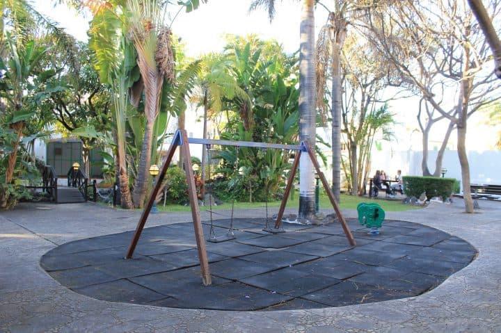 parque infantil en el Parque Lulú en Telde