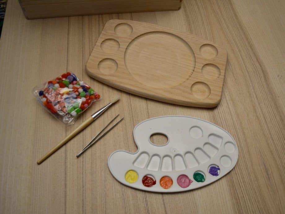 materiales de cómo hacer un clasificador de colores