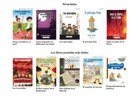 libros juveniles e infantiles digitales