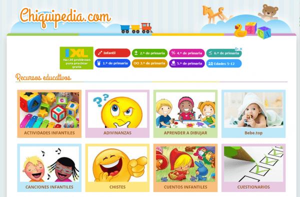 portal de recursos educativos para niños gratis