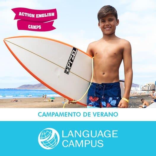 campamento de verano language campus