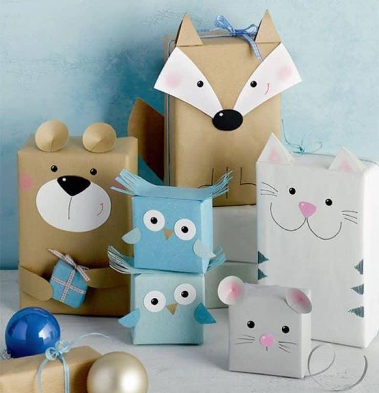 ideas para envolver regalos infantiles