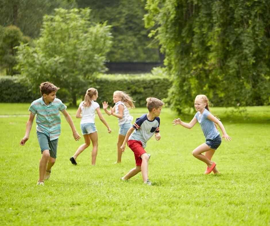 juegos de niños tradicionales pilla pilla