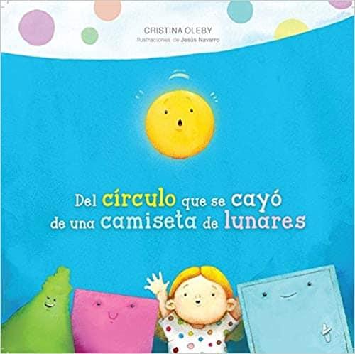 libro infantil del circulo que se cayó de una camiseta de lunares