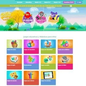 portal de juegos educativos gratis arbolabc