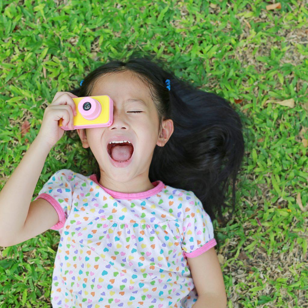 juguete cámara de fotos para niños