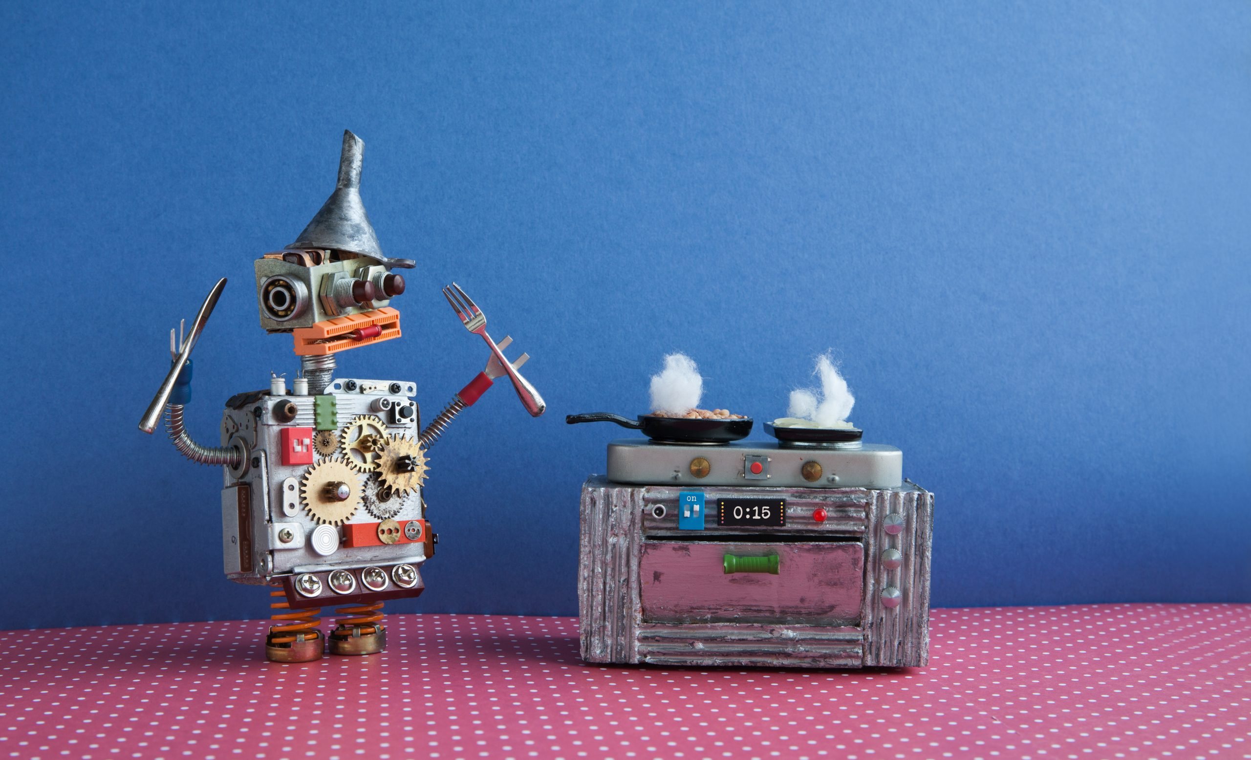 un robot como juguete electrónico para niños